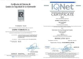 ISO 27001 GT AENOR IQNET