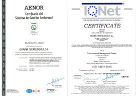 ISO 14001 GT AENOR IQNET