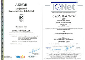 ISO 9001 GT AENOR IQNET