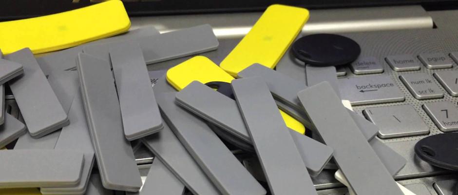 Étiquette silicone