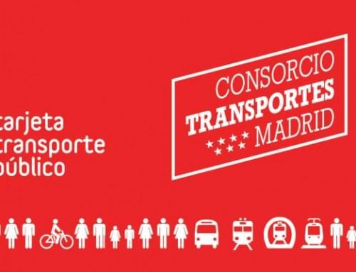 Le Consortium Régional des Transports de Madrid attribuer la Carte de Transport Public à Grama